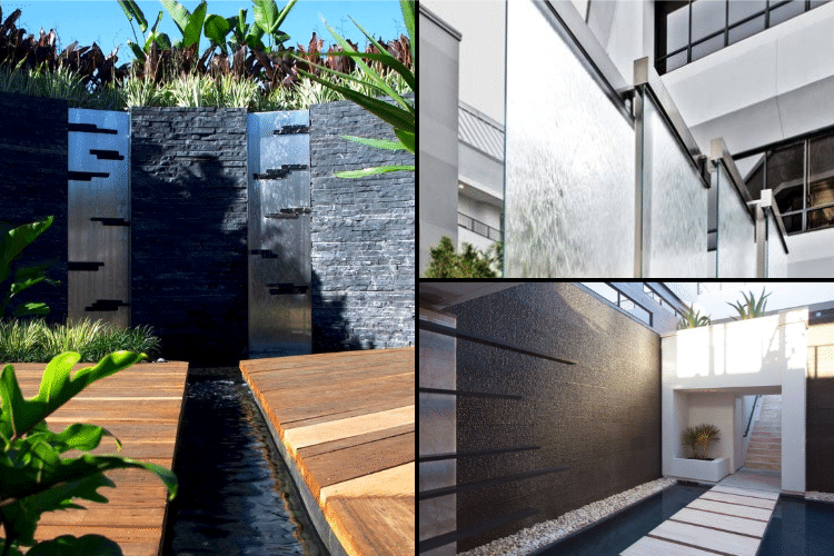 Mur d 39 eau une alternative au mur v g tal - Mur d eau jardin ...