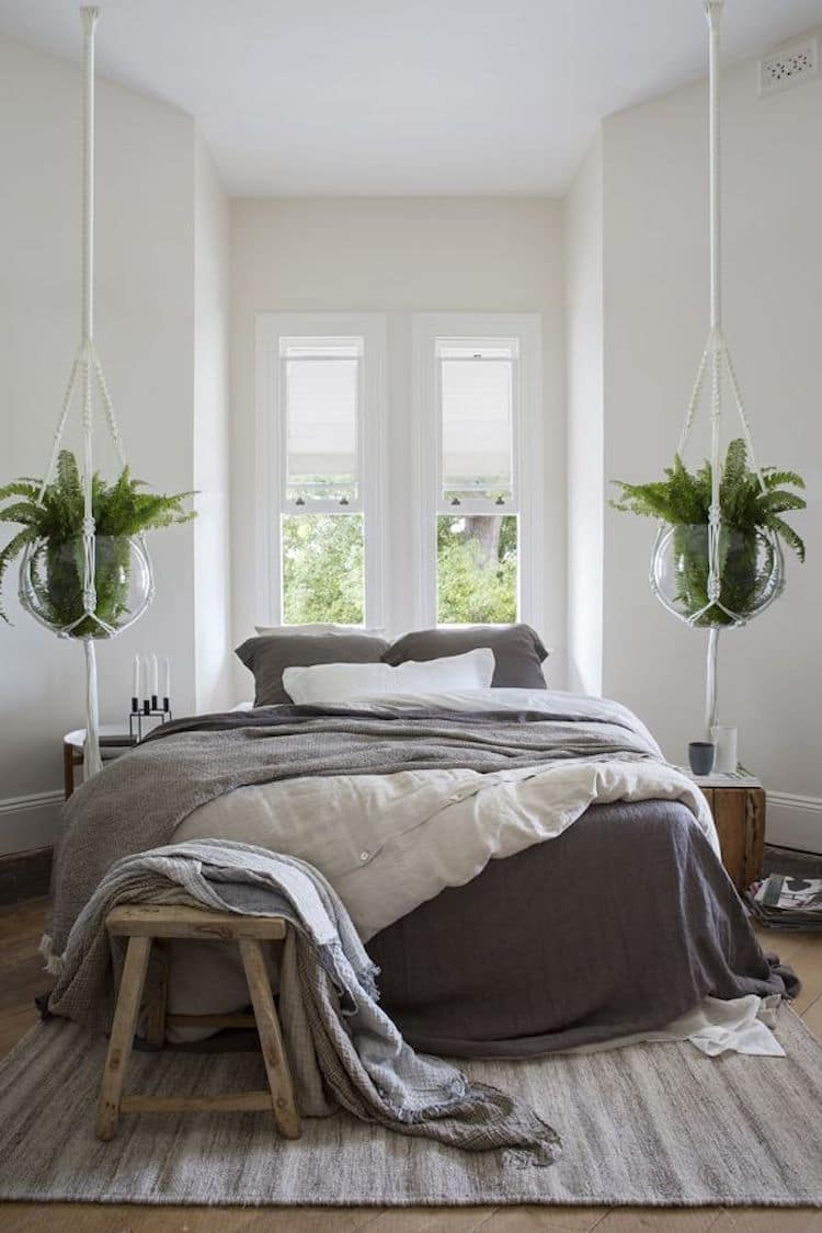 decorer chambre avec plantes - Plante Verte Dans Une Chambre A Coucher