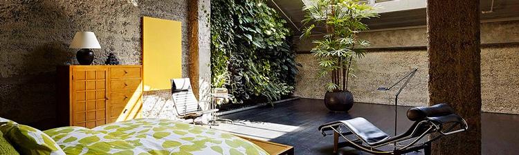 Lofts et murs végétaux