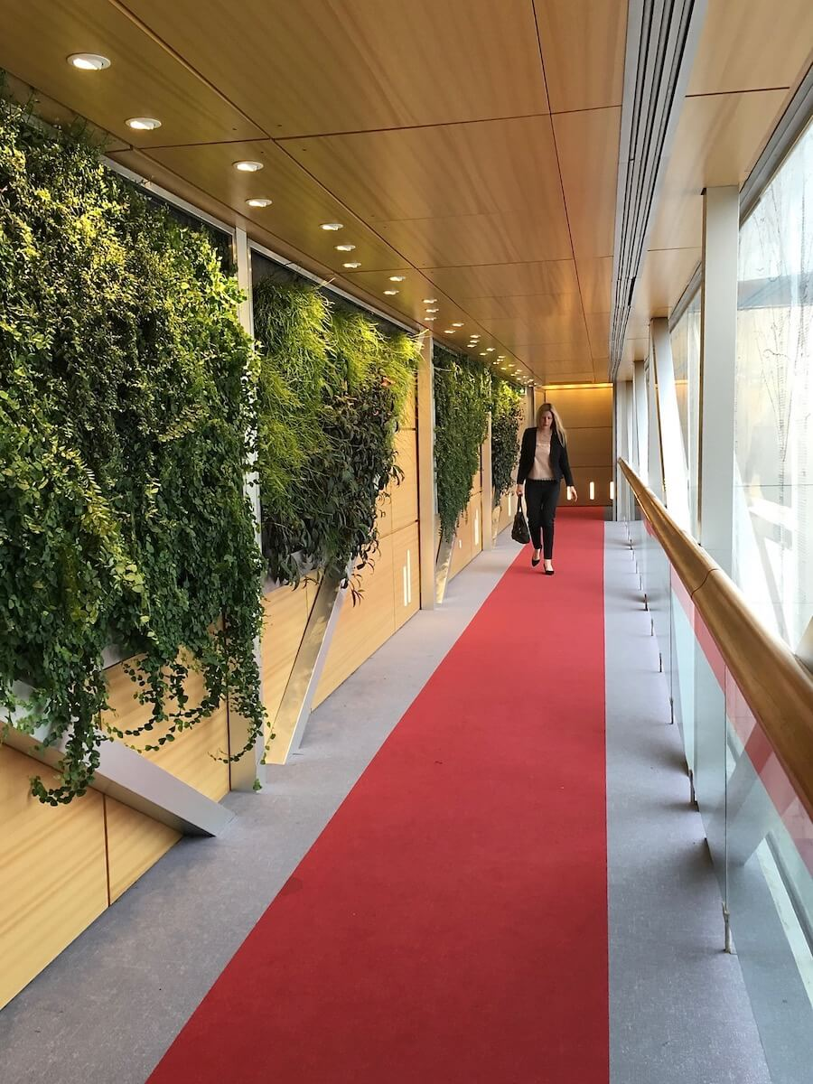 Dans le couloir de Bercy