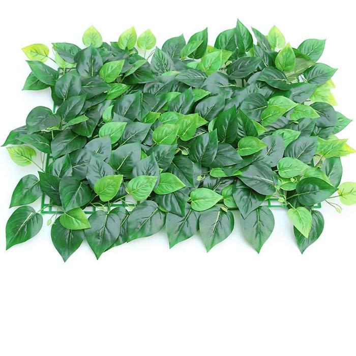 un élément d'un mur végétal artificiel