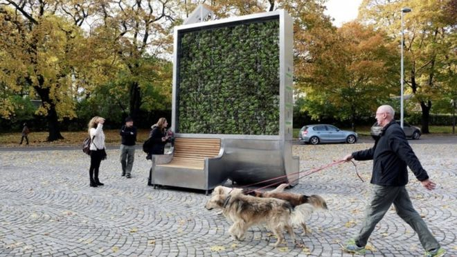 filtration d'air en ville