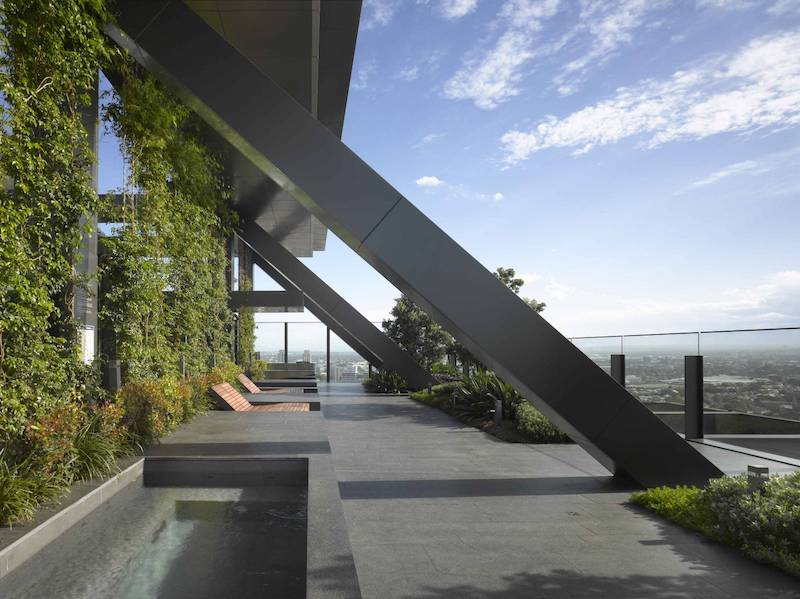 mur vegetal dans l'architecture