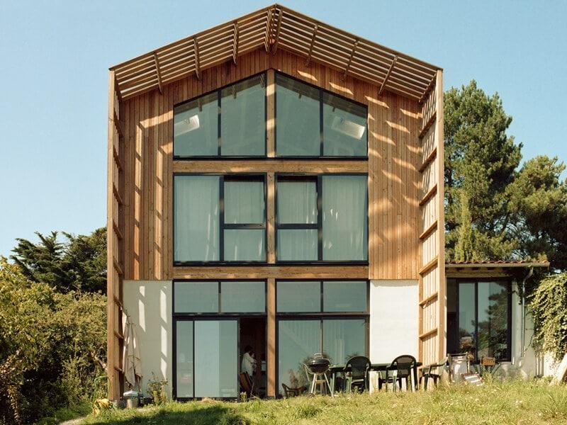 maison en bois, maison écologique