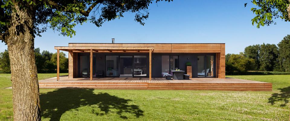 Maison bioclimatique respectueux de la nature