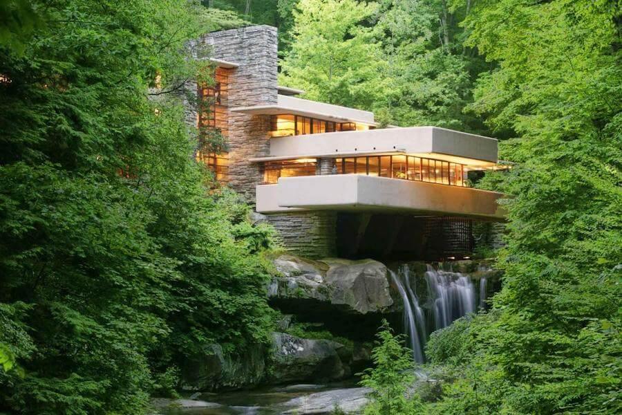 maison de la cascade
