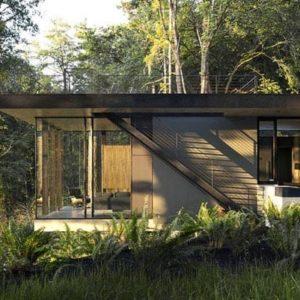 Quand la maison d'architecte renoue avec la nature