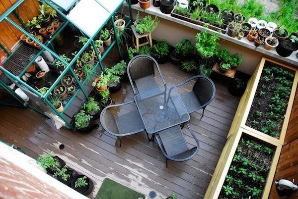 terrasse en ville